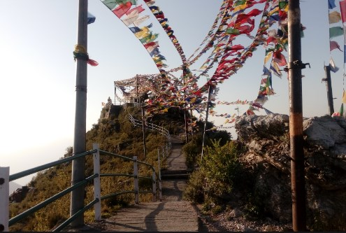 dalai hills and buddha temple