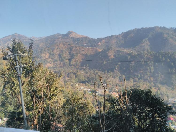 Beautiful surrounding mountains