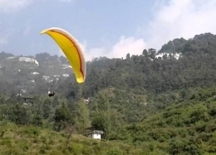 Paragliding (Near Jheel)