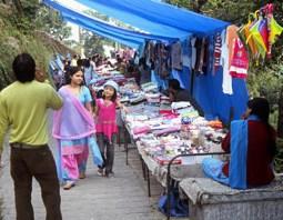 Tibetan Markets Mussoorie